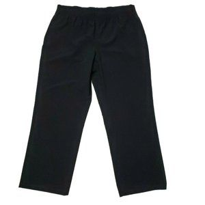 Additions by CHICOS Black Pull On Pants L